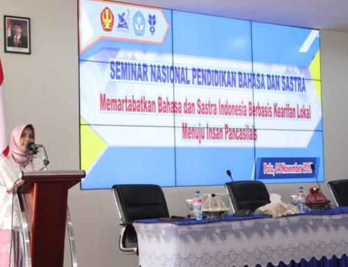 Memperingati Bulan Bahasa, Program Studi Pendidikan Bahasa Indonesia Kembali Mengadakan Seminar Nasional Pendidikan Bahasa dan Sastra.